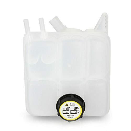 cianxincailia Tanque de expansión de Agua de refrigerante con Tapa 30776151/30776150 para Ford Focus MK2 2004-2011, del radiador del refrigerante del Motor Tanque recuperación de depósito