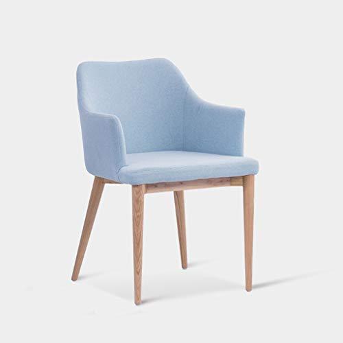 HBGGGGG stoel Nordic massief hout eetstoel Designer Hotel Model Grijs bureaustoel moderne minimalistische koffie stoel D