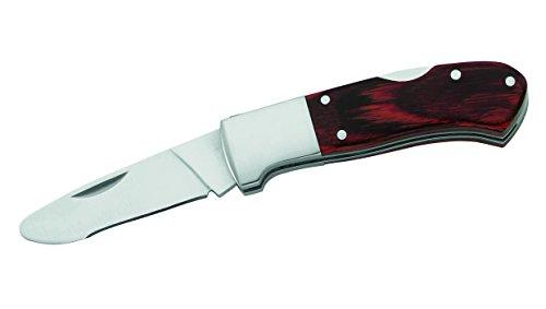 Herbertz Kinder-Taschenmesser, Pakkaholz Messer, grau, M
