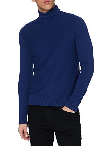 BOSS Herren Aneberly Pullover, Navy411, XL