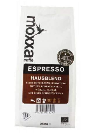 moxxa - Espresso Hausblend 250 g gemahlen