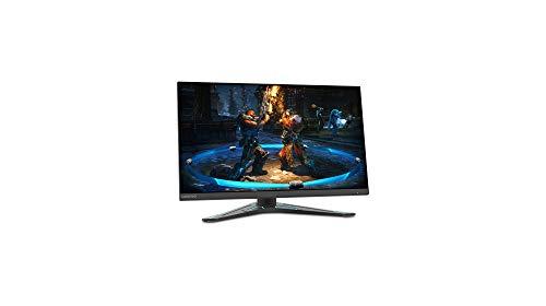 Lenovo G27-20 27 Pulgadas FHD IPS FreeSync Premium Gaming Monitor 144 Hz 1 ms HDMI+DP con Bordes ultrafinos y Base Regulable en Altura - Negro corvino