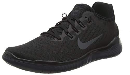 Nike Mens Free RN 2018 Running Sneakers Black/Anthracite 942836-002 (11.5 D(M) US)