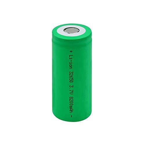 ndegdgswg 1-10 StüCke 3.7 v 32650 Akku 8200 Mah 32650 Li Ionen Akkus für Led Taschenlampen Fernbedienungsspielzeug Notlichter 1Pieces