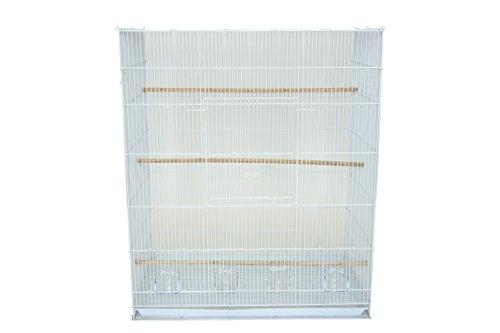 YML Large Breeding Cage, 30 x 18 x 36, White