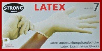 Latex - Einweghandschuhe 100er-Box Größe S