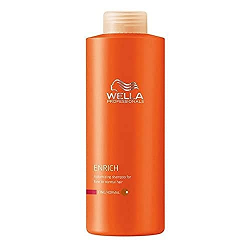 Wella - Shampoo Enrich Volumizzante Capelli Normali/Fini - Linea Enrich - 500ml