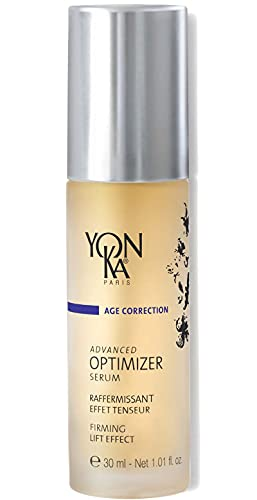 Yon-Ka Advanced Optimizer Serum (30ml) Anti-Aging Face Serum Gel with Marine Collagen and Hyaluronic Acid, Clinically Proven to Firm and Lift Skin, Paraben-Free