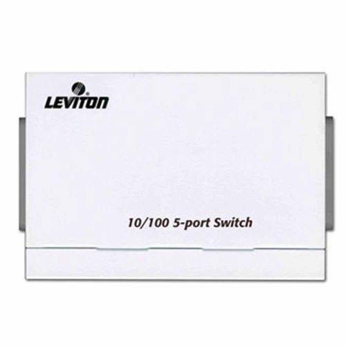 Leviton 47611-5PT 10/100MBPS 5-Port Ethernet Switch
