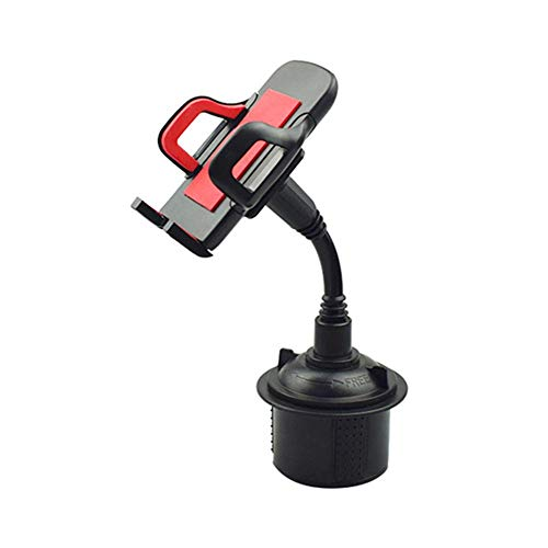 Xploit Car Phone Mount, Soporte de navegación Universal Tipo Coche Porta móvil Gris/Rojo