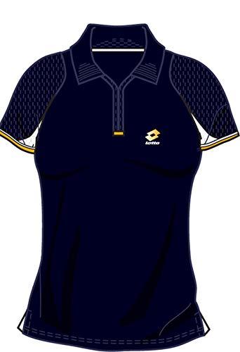 Lotto Poloshirt WTA Tour Gold, Damen, Gr. L (38-40), Dark Navy