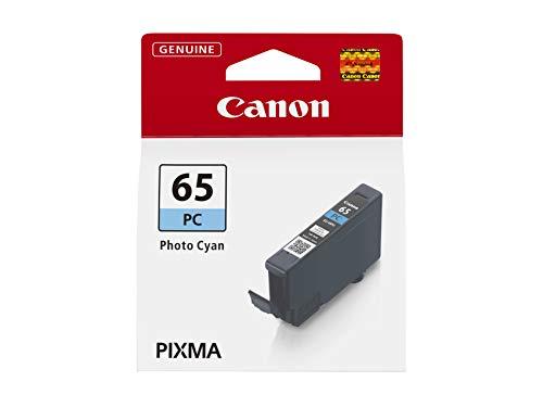 Canon CLI-65 PC Tinte Foto Cyan, 12,6 ml Druckertinte für PIXMA Tintenstrahldrucker ORIGINAL