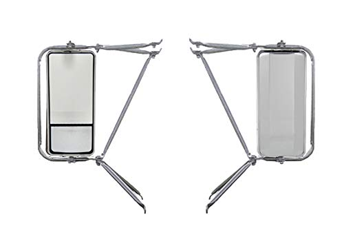Set of Chrome Arm Assembly with West Coast Heated Mirror -