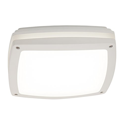 AEG Stone LED buiten- en plafondlamp, 1450 lumen, aluminium, geïntegreerd, 20 W, wit, 30 x 30 x 8,7 cm