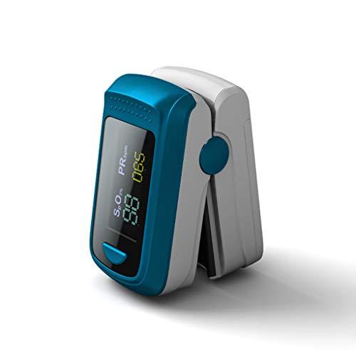 LTLCBB Fingerpulsoximeter, Pulsoximeter, Oximeter mit Alarm ideal zur schnellen Messung der Sauerstoffsättigung (SpO2), Einfacher Pulsmesser für Kinder & Erwachsene, OLED Anzeige