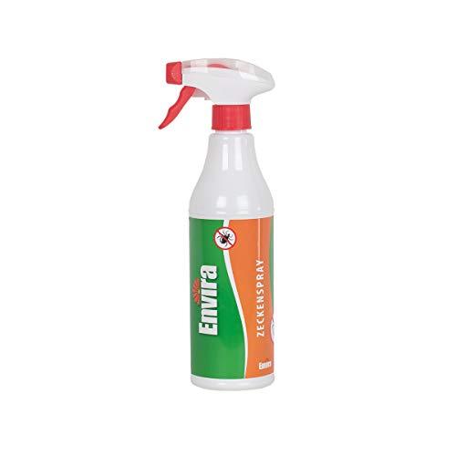 Envira Zecken-Spray - Anti-Zecken-Mittel Mit Langzeitwirkung - Geruchlos & Auf Wasserbasis - 500 ml