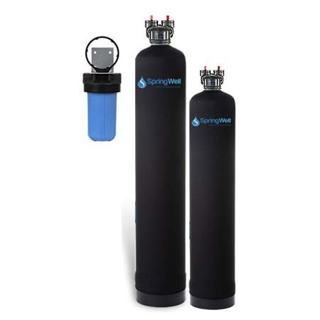 Water Filter and Salt Free Water Softener (1-3 Bathrooms)