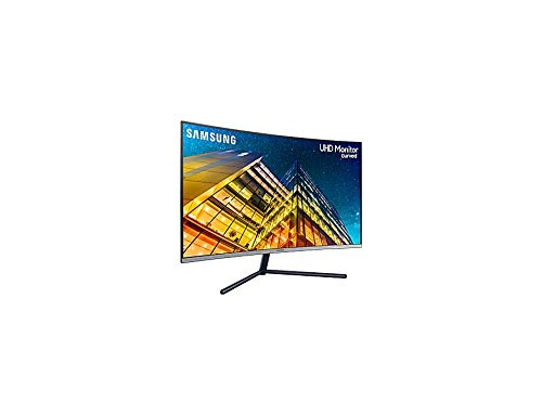 Samsung U32R594CWU computer monitor 80 cm (31.5 inches) 4K Ultra HD LCD Curved Grey - computer screens (31.5 inches), 3840 x 2160 pixels, 4K Ultra HD, LCD, 4 ms, grey)