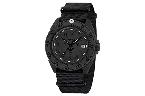 KHS Einsatzuhr KHS.ENFBTXT.NB Enforcer Black Titan XTAC 44mm