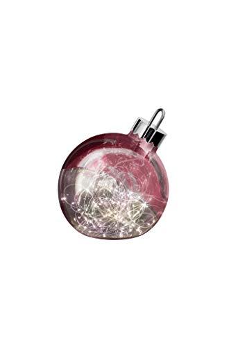 sompex LED decoratieve lamp ornament | Grote kerstbal met verlichting | Decoratief element vloer/vensterbank