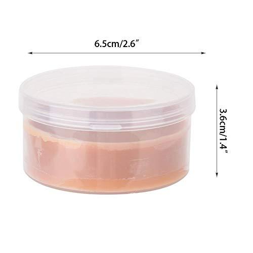 Body Painting Wax - Delaman Cover Scars Skin Wax Efectos especiales Pintura corporal Maquillaje 2Tipos 1PC(Caja de plástico SEN-2#)