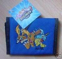 Digimon Geldbörse mit aufgesticktem Motiv