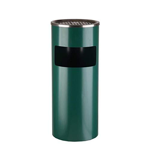 Cenicero De Puros - Compartimiento de basura de la basura al aire libre puede con el interior del cubo de acero inoxidable for Backyards Patios Hotel Papelera de reciclaje de papel...