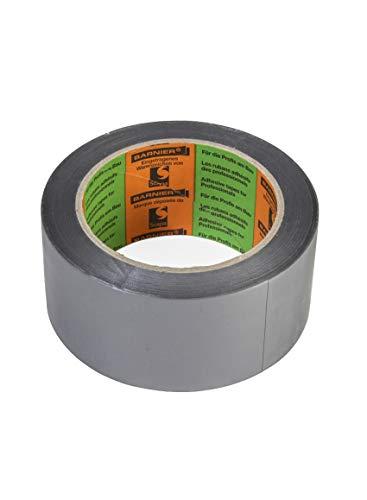 Barnier 6096 Putzerband silber 50 mm x 33 m Schutzband PVC-Schutzband Klebeband Putzerband Scapa