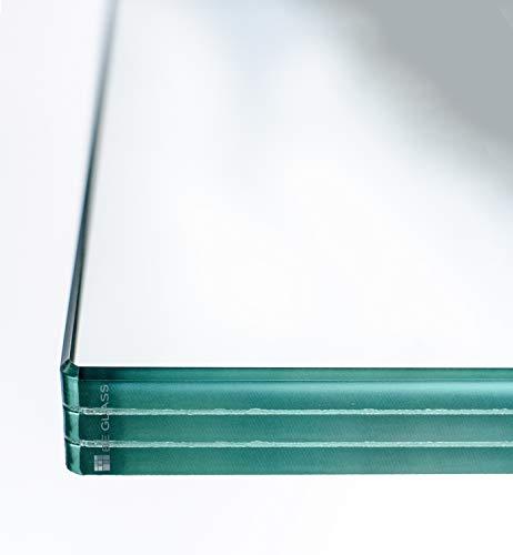 Begehbares VSG-Glas nach Maß, als betretbarer Glasboden, Skywalk oder Lichtschacht-Abdeckung. Alle Größen bis 200x140 cm. Gewählte Größe: bis 160 x 60 cm. Dicke: 41mm.