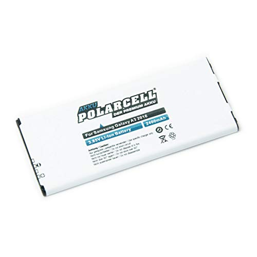 roxs polarcel Line batería 2400mAh para Samsung Galaxy A3sm-a310F (2016)