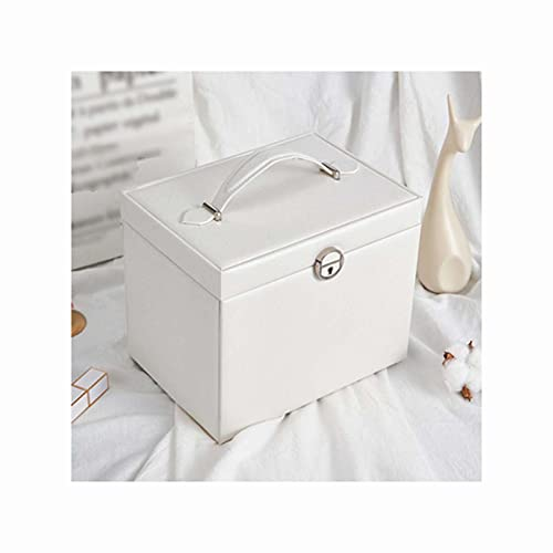 LQIAN Caja Joyero Caja de Joyas,Pendientes,Anillos y Collares joyero para Mujer