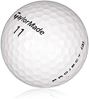 Taylor Made Project (a) Mint Quality Refinished 36 Golf Balls (Renewed)