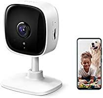 TP-Link Tapo C100 1080p Full HD Indoor WiFi Spy Security Camera| Night Vision | Two Way Audio| Intruder Alert | Works...
