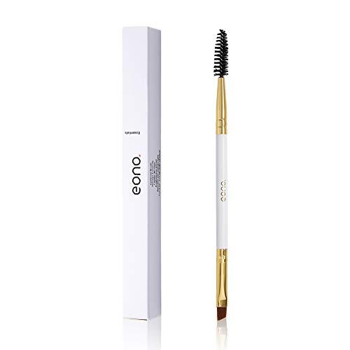 Amazon Brand - Eono Augenbrauenpinsel wimpernbürstchen Augenbrauenbürste und Spoolie-Für Pflege, Gestaltung, Hinzufügen von Pulver, Farbe und Gel