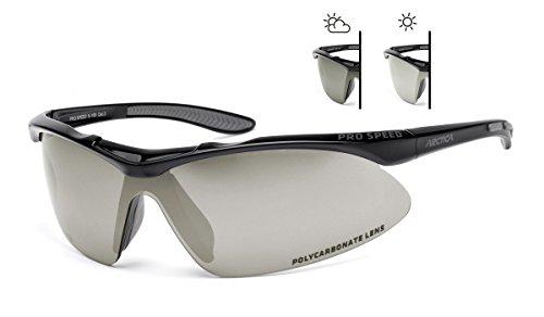 Photochromatische Sportbrille Arctica S-195F. Radbrille, Outdoor-Sport treibenden. UV400 filter