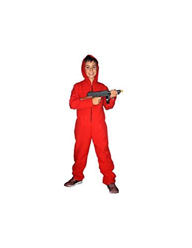 DISBACANAL Mono Rojo con Capucha - -, 12 aos