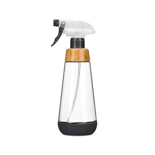 Full Circle Service 16-ounce Multi-use Refillable Glass Spray Bottle, Grey