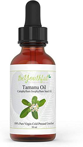 El aceite de Tamanu presionado al frio para el cabello, rost