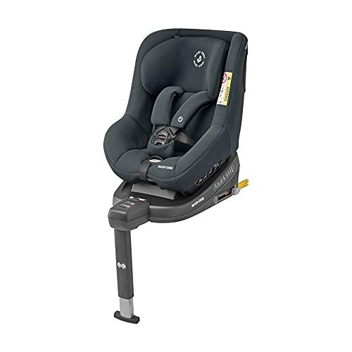 Maxi-Cosi Beryl Silla coche isofix Grupo 0+/1/2, contramarcha y reclinable, crece con el niño desde nacimiento hasta 7 años, color essential g