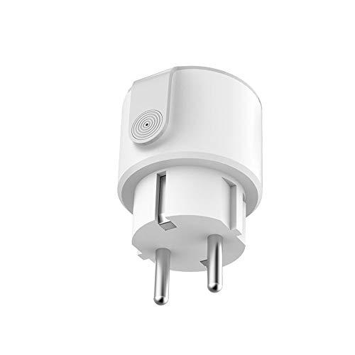 Conpush 2019 Nuevo lanzamiento Wifi Smart Plug Mini toma de corriente inteligentes Funciona con Amazon Asistente de Alexa y Google (Blanco)