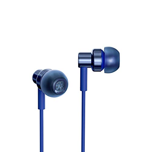 Redmi Hi-Resolution Audio Wired Earphones with Mic (Blue, in The Ear)