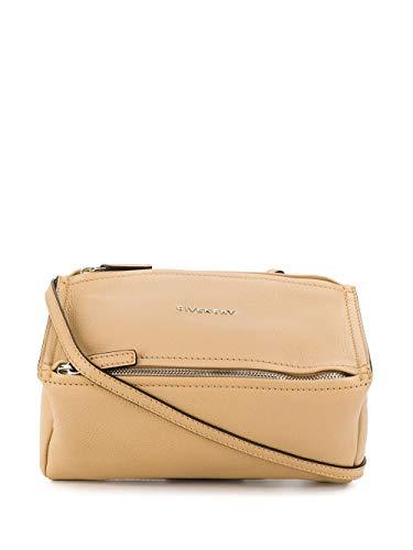 Luxury Fashion | Givenchy Dames BB05253013280 Beige Leer Schoudertassen | Lente-zomer 20