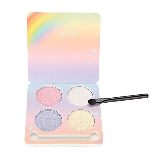 4 Colores Paleta de sombra de ojos, Herramienta de maquillaje de ojos mate y brillante(02#)