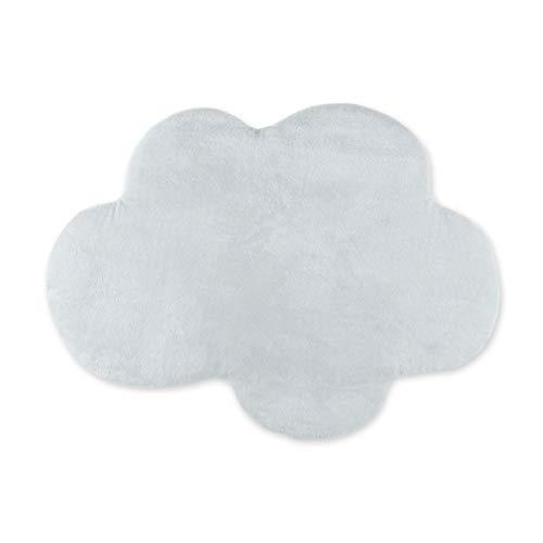 Coussin sp/écial b/éb/é et//ou enfant Ultra moelleux BEMINI en forme de nuage Gris fonc/é 30 cm