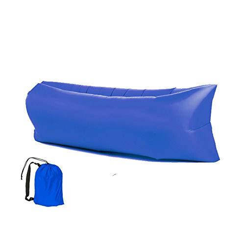 UNISOPH Bärbar uppblåsbar solstol, vattentät luftsoffa uppblåsbar soffa med bärbart paket för stranden, camping, resor, fester