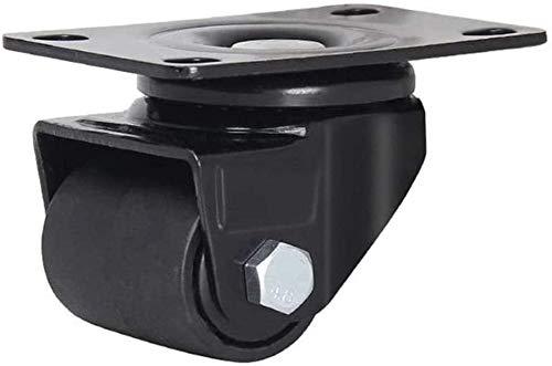 ZHEYANG Ruedas para muebles para ruedas de gravedad de muebles, ruedas universales de nailon resistente al desgaste, de alta carga, silencioso y resistente al desgaste, duradero