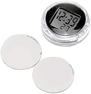 AOZBZ Motorcycle Clock, Digital Waterproof Stick On Motorcycle Clock, Stick On Wall Bathroom Kitchen Clock