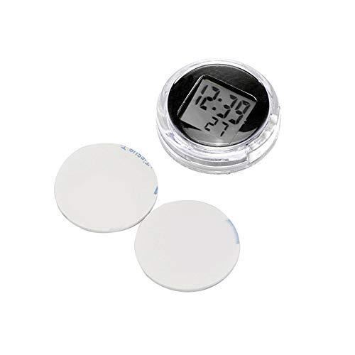 ABEDOE Moto Digitaal stopwatch, universeel, waterdicht, voor buiten, 3M-plakband free zwart