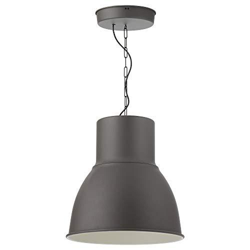 Lámpara colgante HEKTAR 165x Ø47 cm gris oscuro