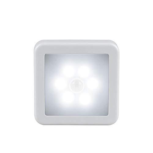 YAJAN Luz Nocturna con Sensor de Movimiento, Luz Nocturna Infantil Enchufe con 3 Modos (Auto/ON/Off), Brillo Ajustable, Luz de Noche para Dormitorio, Escalera, Pasillo, Cocina